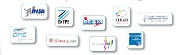Salon de la Formation continue des Ecole d'ingénieurs à Lyon Villeurbanne