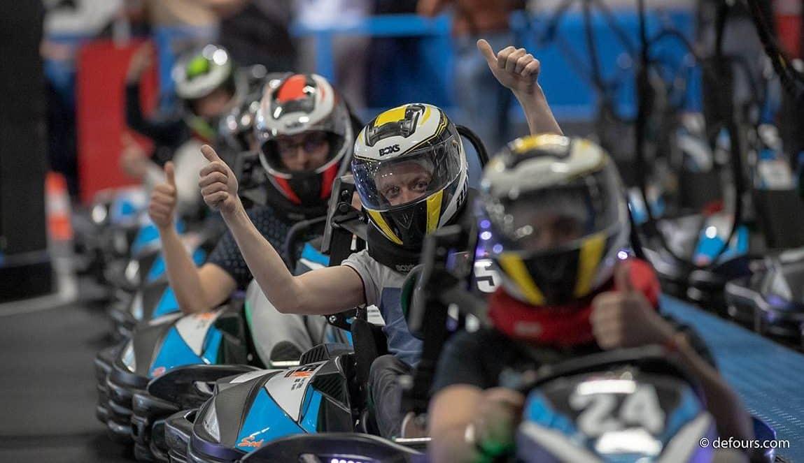 Courses de kart à Lyon pour des challenges d'entreprises insolites