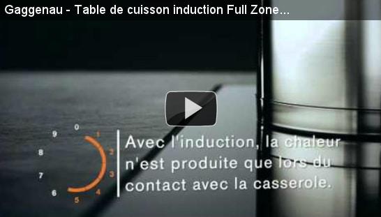 Show Home Concept conseille la plaque à induction Gaggeneau Full Zone