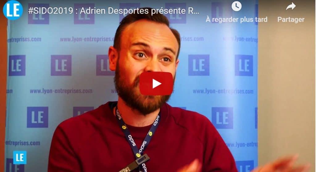 SIDO 2019 : Adrien Desportes présente RTone