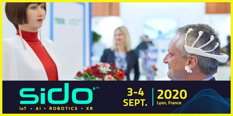 Sido #6 - Au programme du plus grand showroom européen de l'IoT, l'IA et Robotique