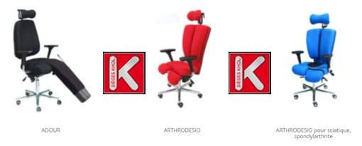 ADOUR  ARTHRODESIO siège arthrodèse ARTHRODESIO pour sciatique, spondylarthrite