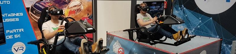 simulateur pour conduite virtuelle