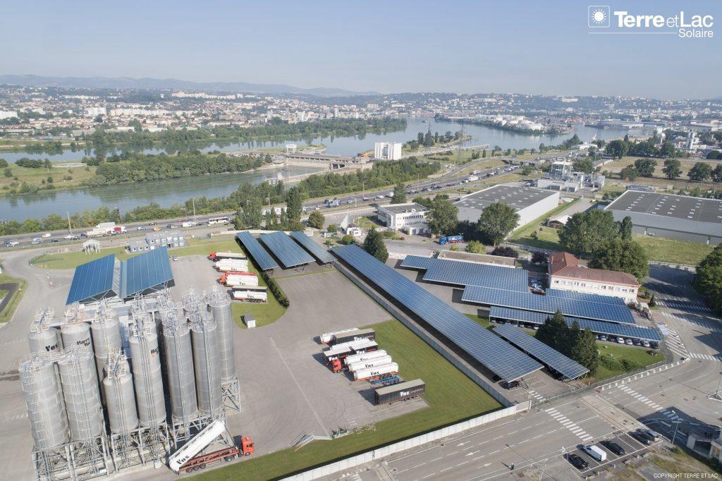 grand lyon usine solaire photovoltaïque
