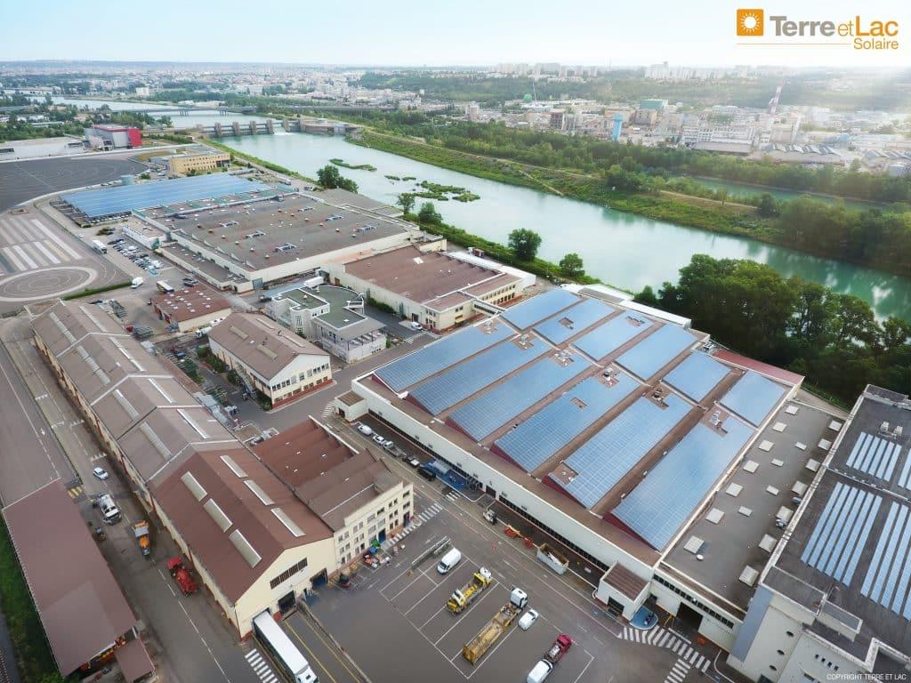 lyon usine solaire photovoltaique