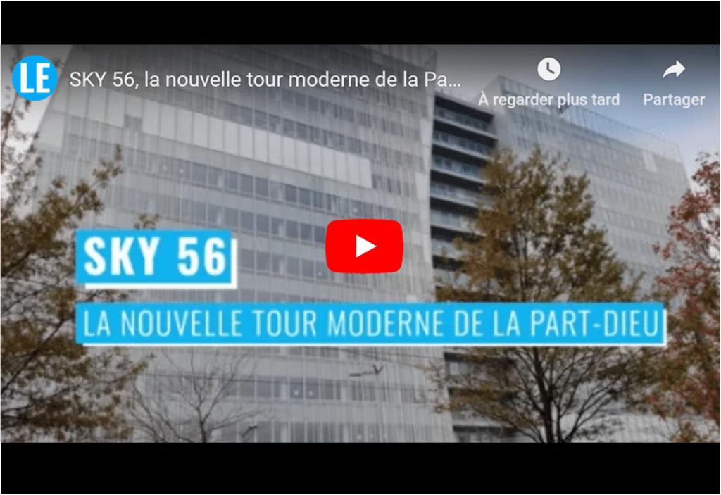 SKY 56 : La nouvelle tour de la Part-Dieu accueillera Orange, sur huit niveaux