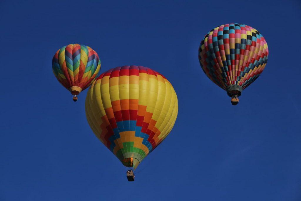 Vol en montgolfière autour de lyon