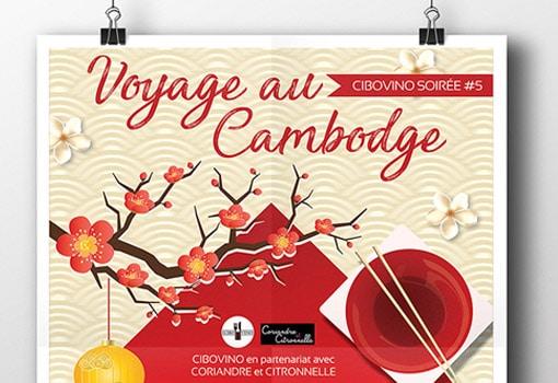 Soirée Cibovino #05 – Voyage au Cambodge [Jeudi 26/04]