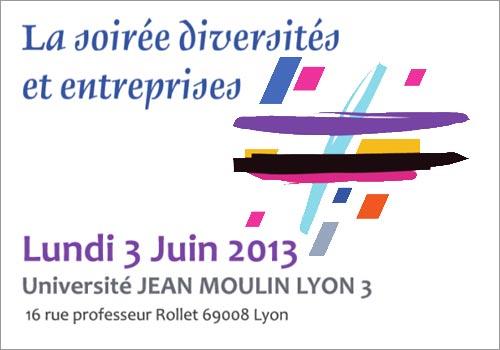 Soirée diversités et entreprises à Jean Moulin Lyon 3