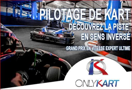 Soirée exceptionnelle Club Business OnlyKart Circuit du Laquais