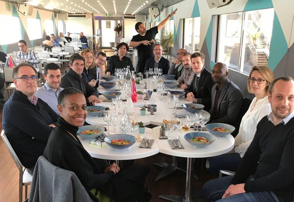 Les participants du 20ème Déjeuner du Club au Bellona