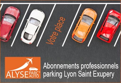 Solutions pros de parking temporaire pour Lyon Saint Exupery