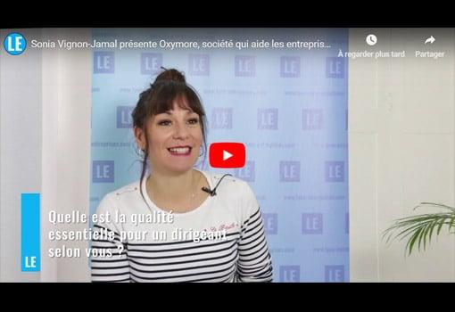 Sonia Vignon-Jamal présente Oxymore and More, aide à la communication écrite des entreprises