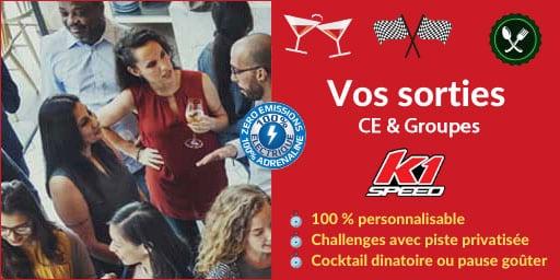 L'offre K1 Speed Comités d'Entreprises & Groupes : le karting pour petits et grands !