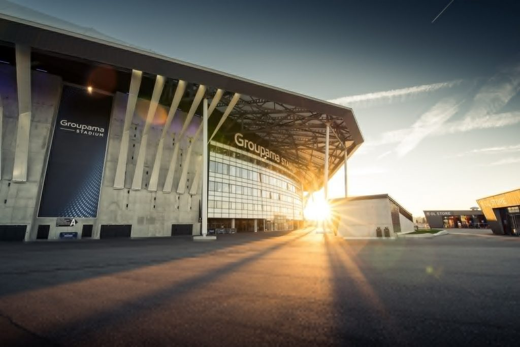 Olympique Lyonnaises entreprises Groupama Stadium