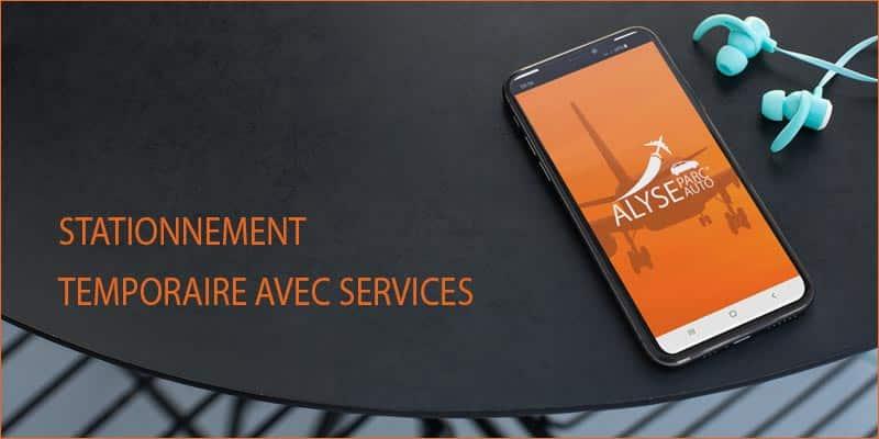 Réservez votre parking depuis votre mobile avec la nouvelle app Alyse Parc Auto