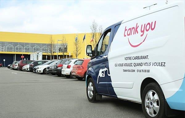 1ère station-service essence mobile en France : la start-up Tankyou désormais installée à Lyon