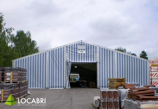 Tente pour pour vente éphémère – Bâtiment modulaire et démontable