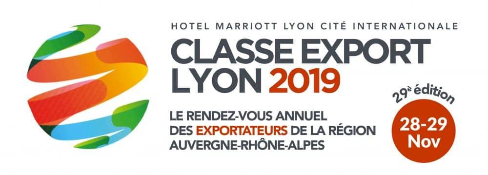 CLASSE EXPORT 29ème édition les 28 et 29 novembre à Lyon Cité Internationale