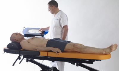 Traitement médical des douleurs de dos avec la MAGNOMEGA-THERAPIE®