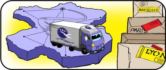 Transport express marchandises Livraison en national
