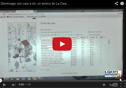 Transport & livre de cave en ligne : services Plus de La Cave Lyon