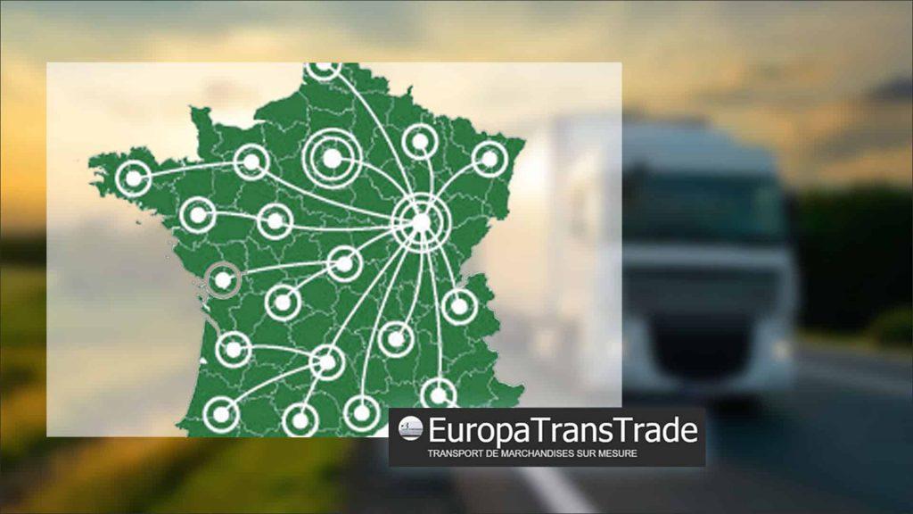 Europa Trans Trade, vous accompagne dans toute la France pour vos transports nationaux