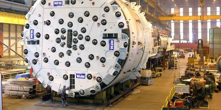 Le dernier fabricant français de tunneliers, NFM,  basé à Villeurbanne, met définitivement la clef sous la porte