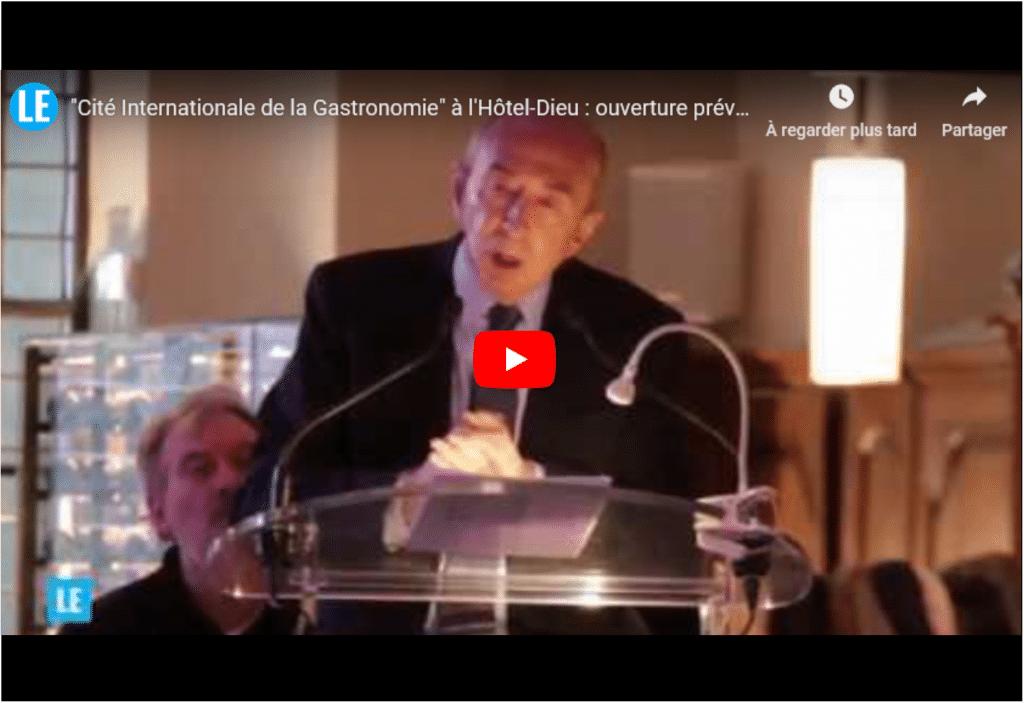Un investissement de 16 millions d'euros: la Cité de la Gastronomie ouvrira ses portes cet automne