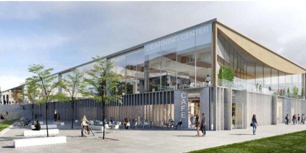 Un «Learning center» à l'architecture aérienne annoncé sur le Campus Portes des Alpes