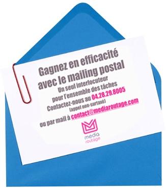 Un mailing postal PRO sur mesure de A à Z + routage pour développer votre Activité Commerciale partout en France