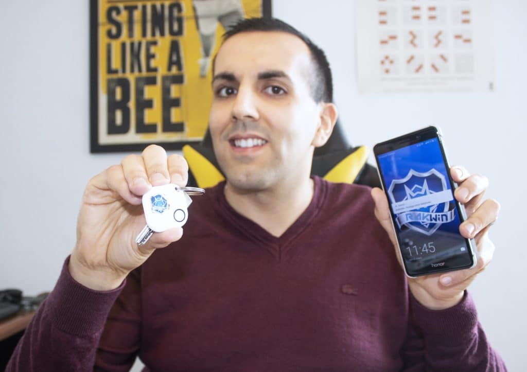 Un succès : deux ingénieurs lyonnaismettent au point un antivol connecté pour smartphone