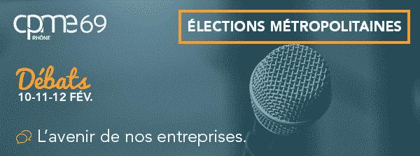 Elections Métropolitaines : Invitation au débat les 10, 11, 12 février