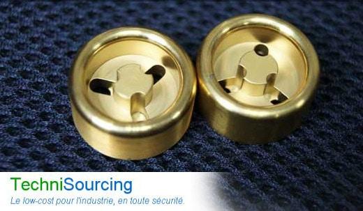 Usinage à bas coût de pièces métalliques