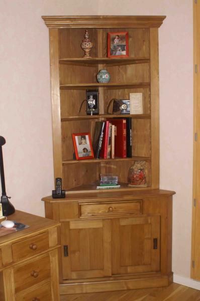Vente mobilier sur mesure : en pin, en épicéa, en chêne !