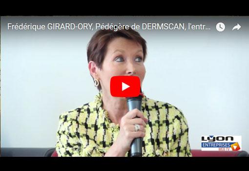 Vidéo Portrait-L'entrepreneur de l'année Auvergne-Rhône-Alpes est une… entrepreneuse: Frédérique Girard-Ory, pédégère de Dermscan