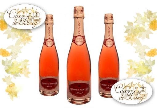 Vin d'étéà découvrir: le crémant rosé de bourgogne de la Cave de Bissey