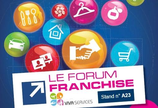 VivaServices au Forum de la Franchise de Lyon