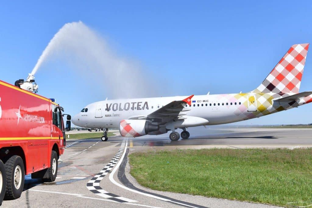 Un avion de la compagnie Volotea