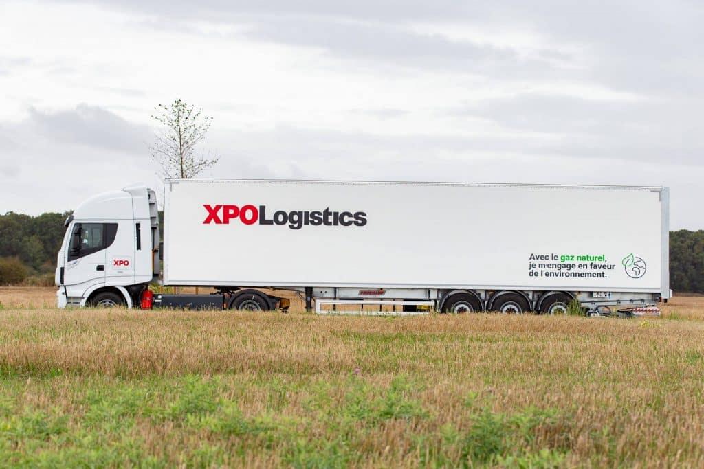 XPO commence à verdir sa flotte de camions en passant au gaz